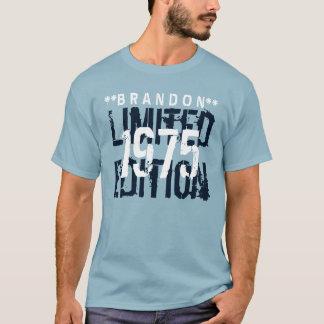 T-shirt quarantième Coutume A05 d'édition limitée de