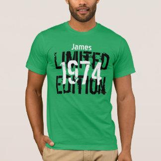 T-shirt quarantième Coutume V05 d'édition limitée de