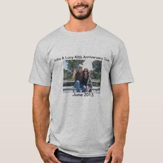 T-shirt quarantième Visite d'anniversaire