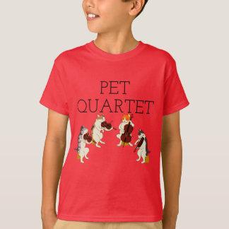T-shirt Quartet d'animal familier