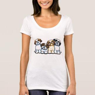 T-shirt Quartet de Shih Tzu
