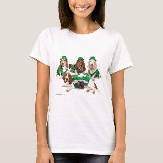 T-shirt Quartet irlandais de chien de basset