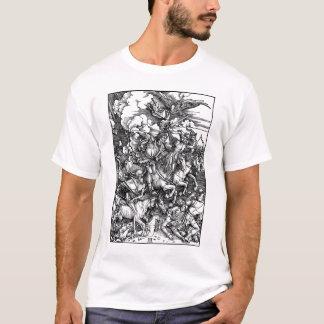 T-shirt Quatre cavaliers de la chemise d'Apocalipse