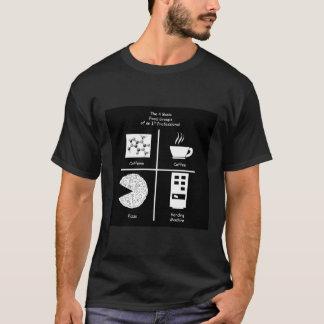T-shirt Quatre groupes d'aliments de base de LUI