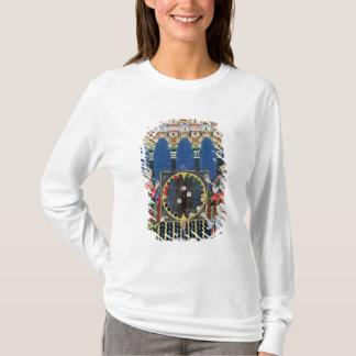 T-shirt Quatre joueurs arabes de backgammon