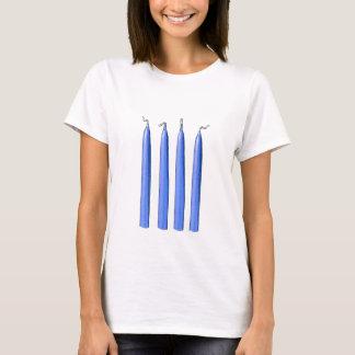 T-shirt Quatre poignées de bougies/fourchette