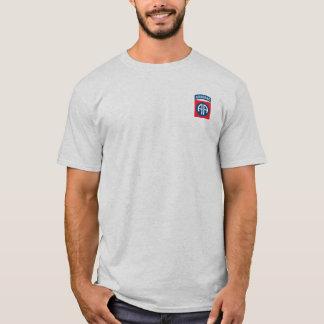 T-shirt quatre-vingt-deuxième Chemise de parachutistes