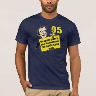 T-shirt Quatre-vingt-quinzième cadeaux d'anniversaire de