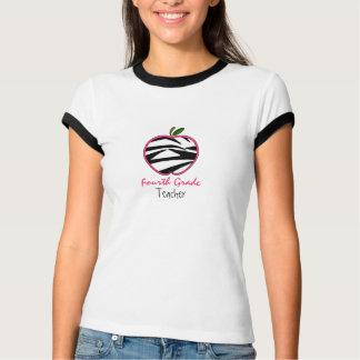 T-shirt Quatrième chemise de professeur de catégorie -