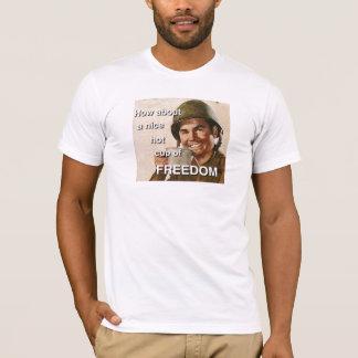 T-shirt Que diriez-vous d'une tasse chaude intéressante de