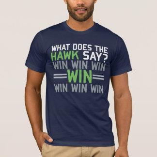 T-shirt Que le FAUCON fait-il disent-ils ?