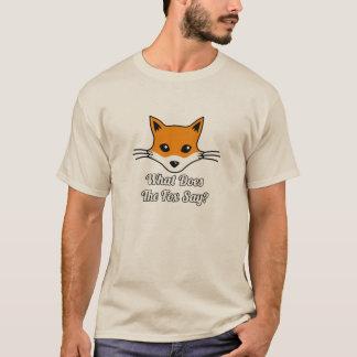 T-shirt Que le Fox indique-t-il ?