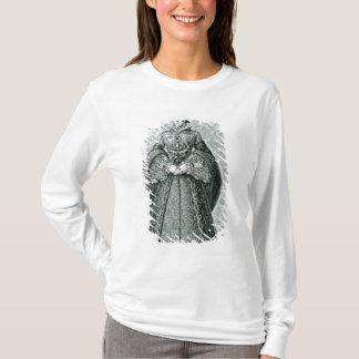 T-shirt Queen Mary I gravé par T.Brown