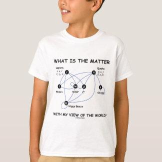 T-shirt Quel est le problème avec ma vue du monde ?