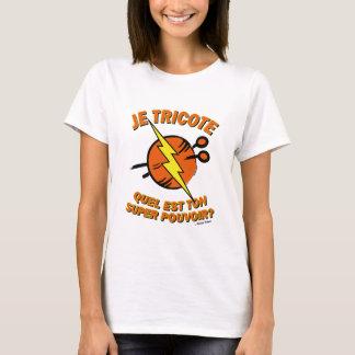 T-shirt Quel est ton super pouvoir ? - Edition Carotte