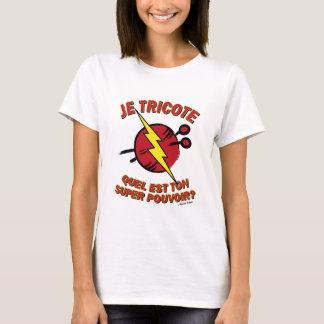 """T-shirt """"Quel est ton super pouvoir ?"""" - Edition Cerise"""