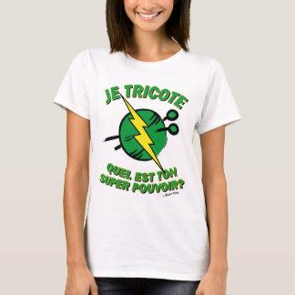 T-shirt Quel est ton super pouvoir ?  Edition Gazon