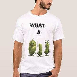 T-shirt Quelle déclaration de conserves au vinaigre