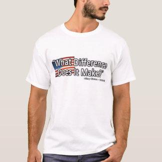 T-shirt Quelle différence il fait