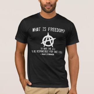 T-shirt Quelle est liberté ? Anarchisme individuel