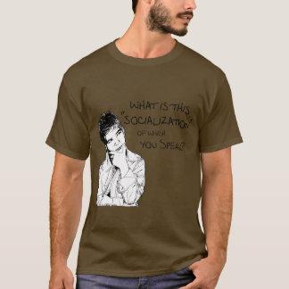 T-shirt Quelle est socialisation ?