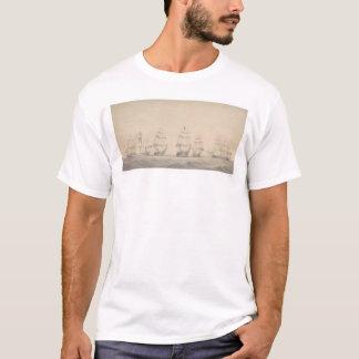 T-shirt Quelques bateaux de l'escadron Pacifique des