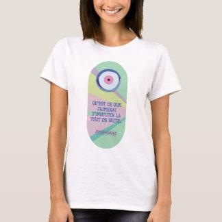 T-shirt Qu'est ce que j'aimerai t'insulter...
