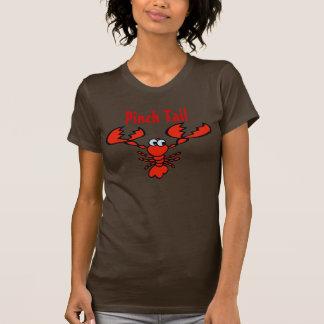 T-shirt Queue comique de pincement d'écrevisses