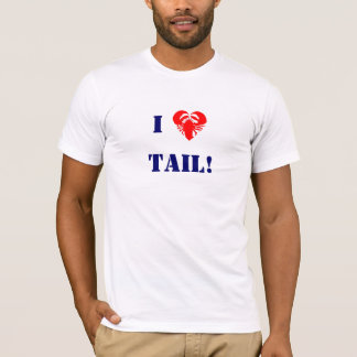 T-shirt Queue de homard -