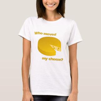 T-shirt Qui a déplacé le fromage