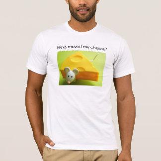 T-shirt Qui a déplacé mon fromage ?