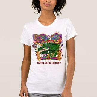 T-shirt Qui docteur de sorcière d'avant de docteur de