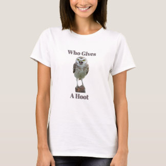 T-shirt Qui donne une huée