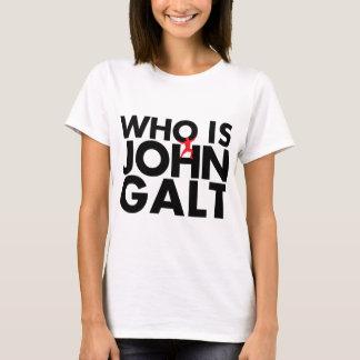 T-shirt Qui est John Galt