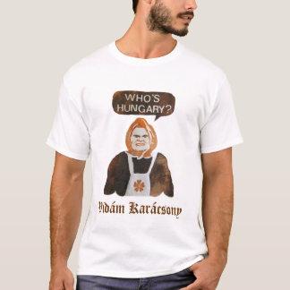 T-shirt Qui est la Hongrie ?