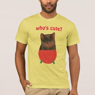 T-shirt Qui est mignon ?