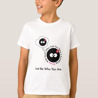 T-shirt Qui vous a indiqués qu'il y a quelque chose mal