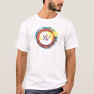 """T-shirt Quinze """"roue de couleur """""""
