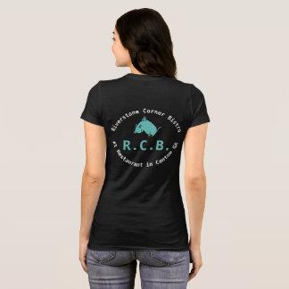 T-shirt R.C.B. porc de vol de tee - shirt : Teal et blanc