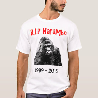 T-shirt R.I.P Harambe
