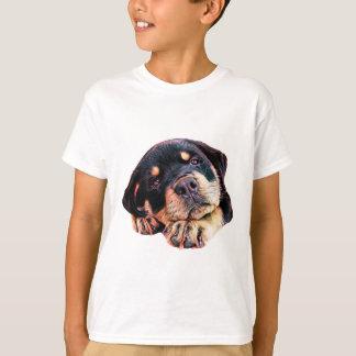 T-shirt Race allemande canine de chien de Rott d'amour de