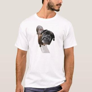 T-shirt Race de chien de boxeur