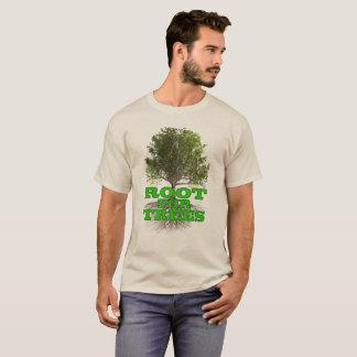 """T-shirt """"Racine chemise légère pour arbres"""""""