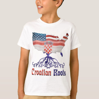 T-shirt Racines croates américaines