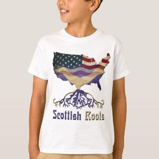 T-shirt Racines écossaises américaines
