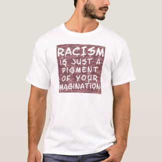 T-shirt Racisme - graffiti