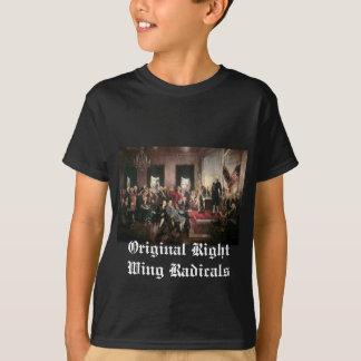 T-shirt Radicaux originaux de droite