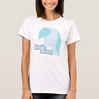 T-shirt Radio Brony femmes