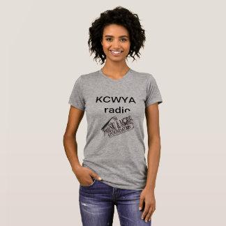 T-shirt radio de kcwya