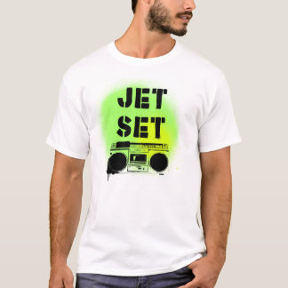 T-shirt Radio d'ensemble de jet